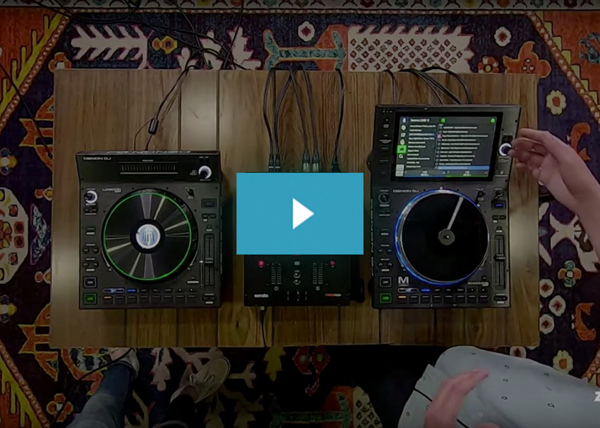 Denon LC6000 Prime Video Demo