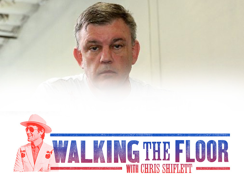 Teddy Atlas Walking the Floor