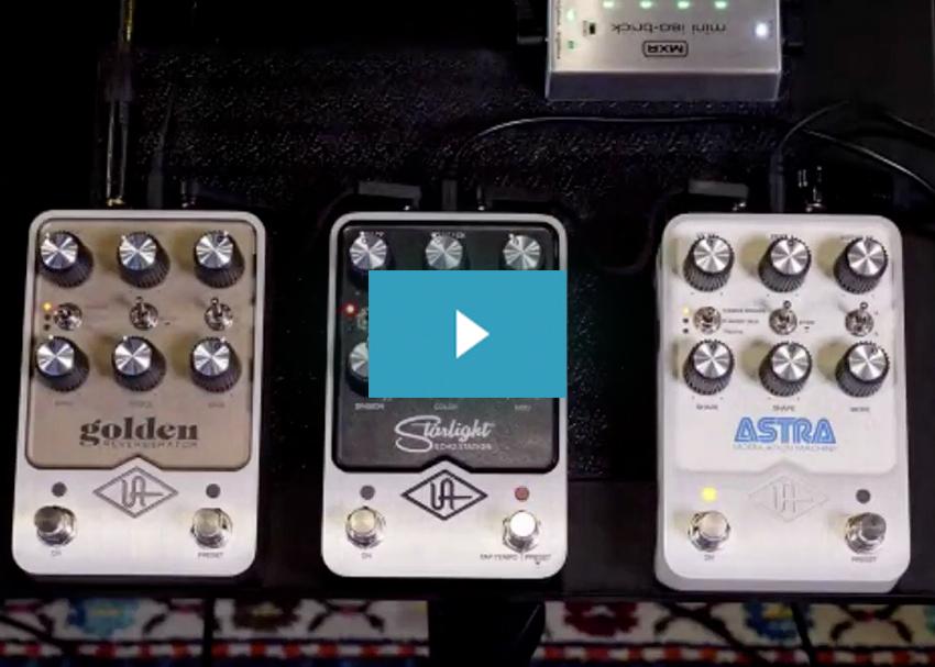 Universal Audio Pedals Main