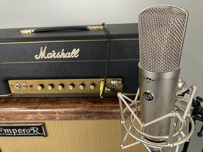 Guitar cabinet miking - Warm Audio WA-87